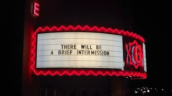Say It On the Garde Marquee